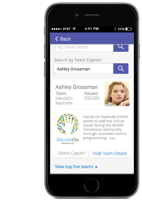 UX UI for Mobile Teams Concept
